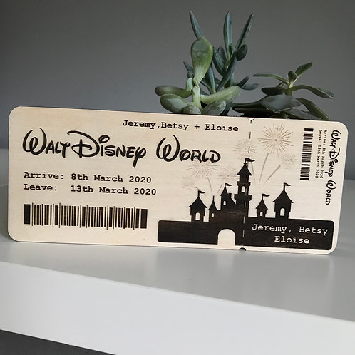 Personalised Walt Disney World Tickets