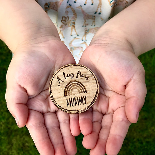 """A hug from Mummy"" Token"