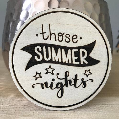 Those Summer Nights - Mini Disc