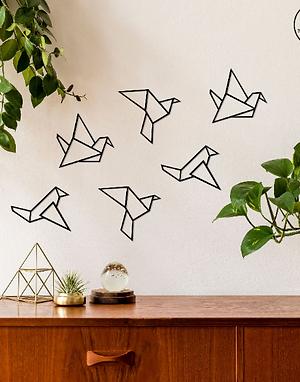 Origami Birds Wall Art