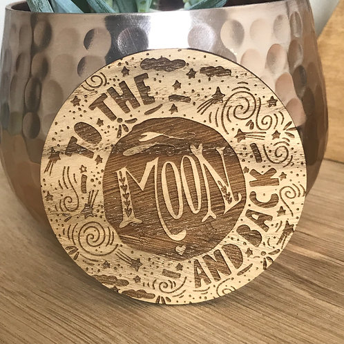 To the Moon and Back- Mini Disc