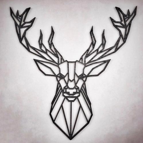 Geometric Stag (original design)