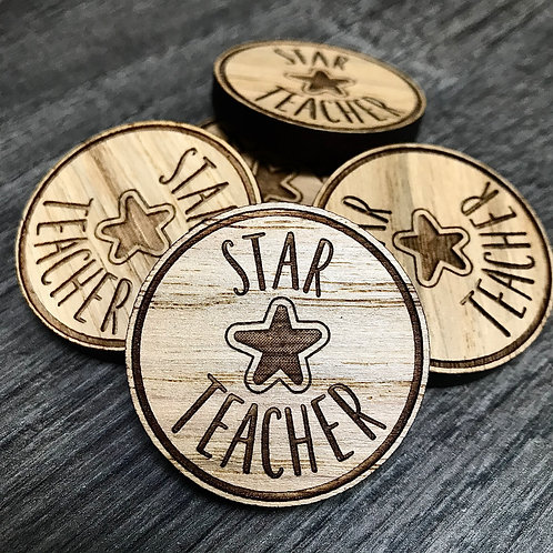 Star Teacher Tokens