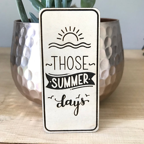Those Summer Days - Mini Disc