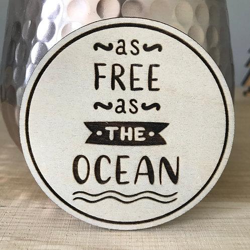 Free as the Ocean - Mini Disc