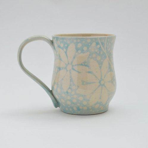 Daisy design mug