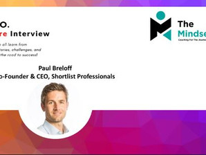IronCEO RapidFire: Paul Breloff, Co-Founder &CEO, Shortlist Professionals