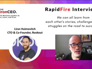 IronCEO RapidFire: Liran Haimovitch; CTO & Co-Founder, Rookout