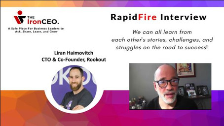 IronCEO RapidFire: Liran Haimovitch; CTO & Co-Founder, Rookout