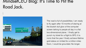 MindsetCEO Blog: It's Time to Hit the Road Jack.