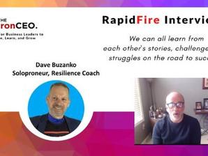 IronCEO RapidFire: David Buzanko: Solopreneur & Resilience Coach