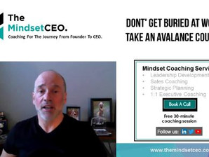 MindsetCEO Blog: Dont Get Buried Alive!