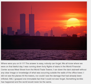 MindsetCEO Blog: Where Were You on 9-11?