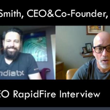 IronCEO RapidFire:              Torrey Smith, CEO&Co-Founder, Endiatx