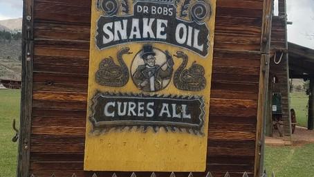 """Honestly """"Snake Oil"""" Gets a Bad Rap!"""