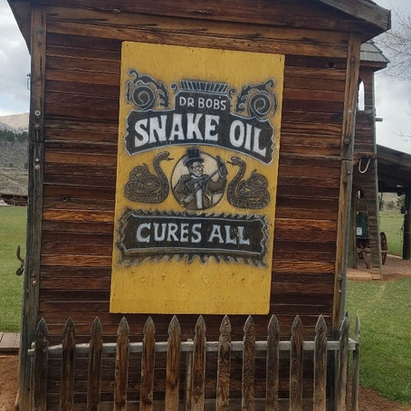 "Honestly ""Snake Oil"" Gets a Bad Rap!"