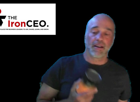The IronCEO Video Blog: EAT YOUR OWN DOG FOOD
