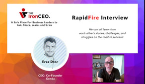 IronCEO RapidFire: Erez Dror, CEO & Co-Founder, Genda