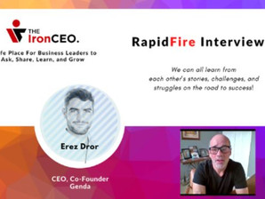 IronCEO RapidFire: Erez Dror, CEO & Co-Founder, Genda