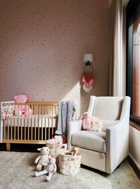 the cappiello_bond street_baby room_pink