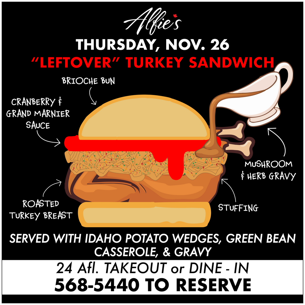 Thanksgiving Special Sandwich!