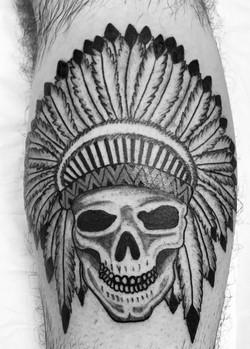 indien skull