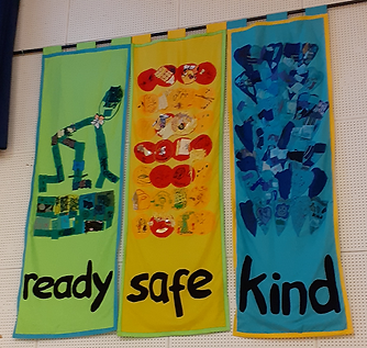 Colnbrook School_banner created by child