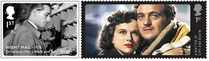 GPO Film Unit_two commem. stamps_landsca