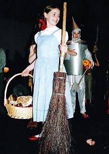 Milly Forrest in Wizard of Oz, aged 8_Yo