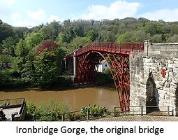 Ironbridge Gorge, the original bridge_wi