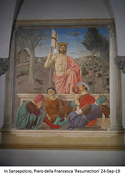 PIERO Della FRANCESCA 'RESURRECTION' IN