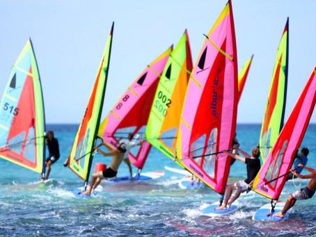 4 / 5 sept : régate de windsurfer