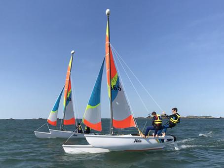 STAGES PRINTEMPS : les stages catamaran ouverts !