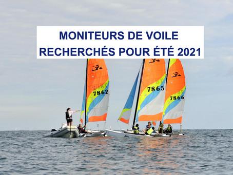 On recrute des moniteurs pour l'été 2021 au YCSL et CNR
