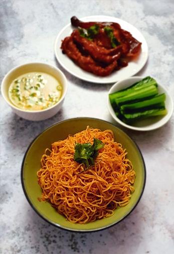 Uncle's Soy Sauce Noodles