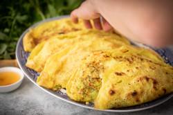 Vietnamese Sizzling Crepe - Bánh Xèo Cooking Kit