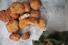 Vietnamese White Sesame Donut - Bánh Tiêu