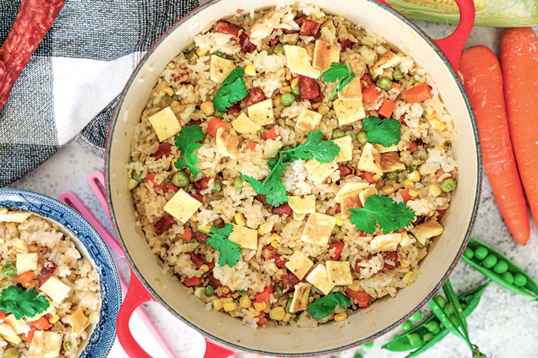 Healthy Vietnamese Fried Rice