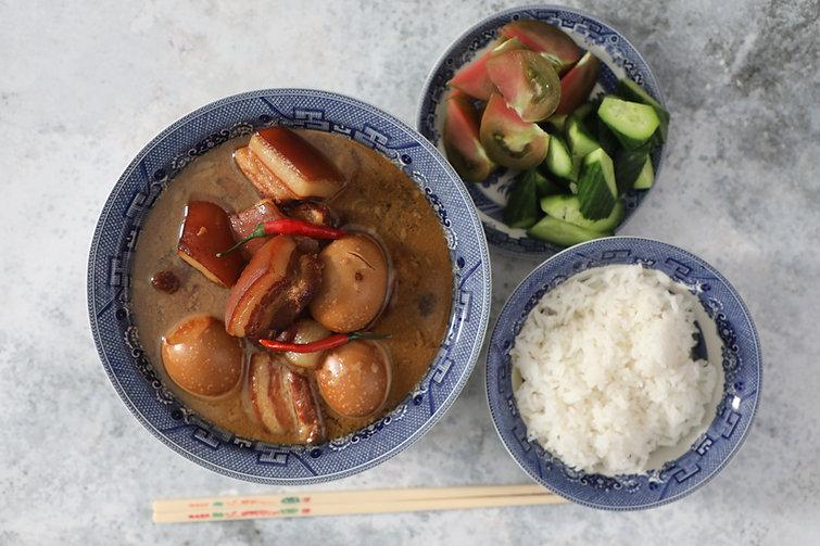 Vietnamese Braised Pork Belly and Eggs - Thịt Kho