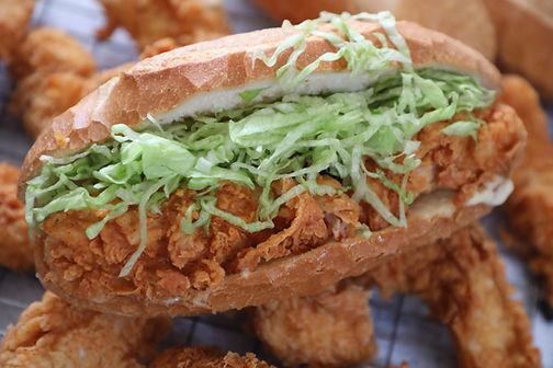Duncan's BBH Fried Chicken Roll