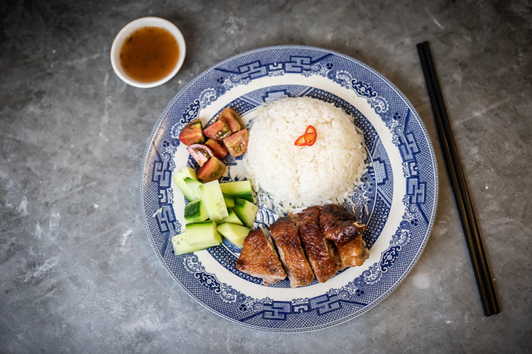 Roasted Duck and Rice