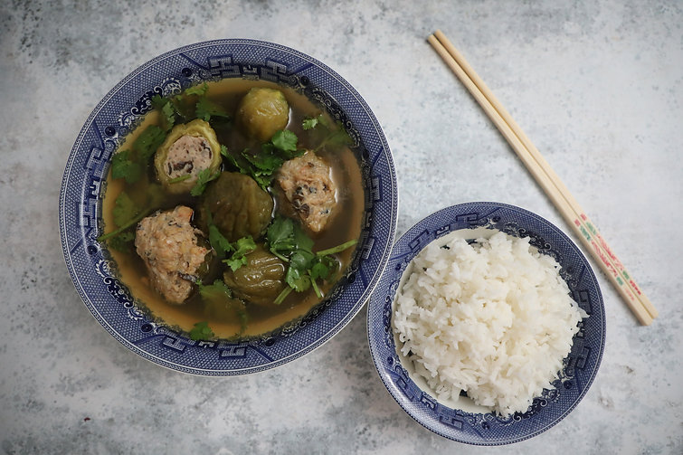Bitter Melon Soup - Canh Khổ Qua