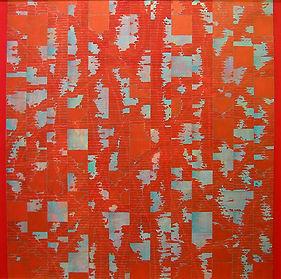 AKH1.Akhilesh.Acrylic On Canvas.39x39.Rs