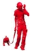 Debanjan Roy Gandhi walking a pug.jpg