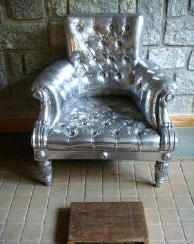 Subodh Gupta Imperial Chair 36 x 30.JPG