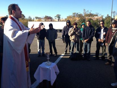 Worship in a Parking Lot