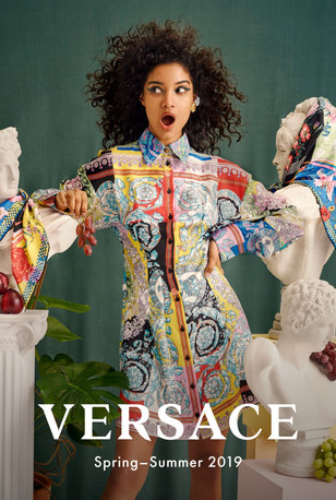 VERSACE SS19 × The Webster