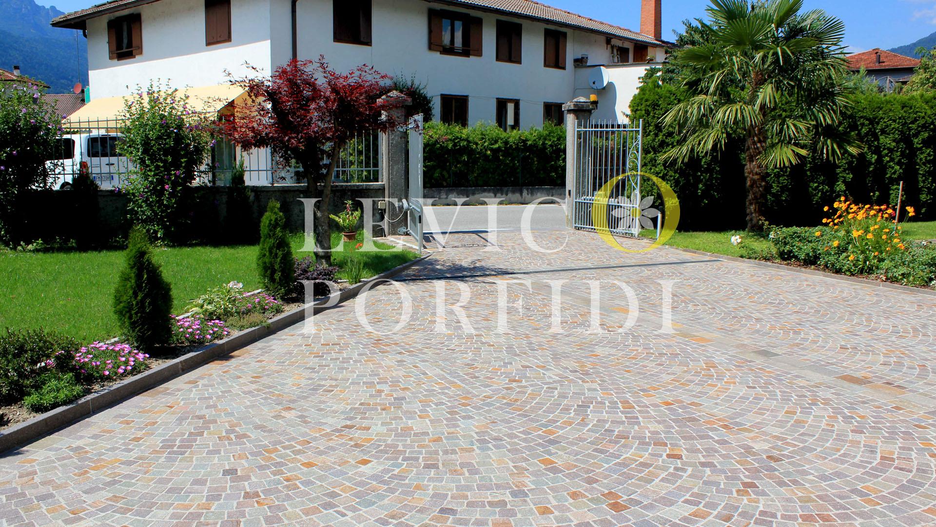 Cubetti Porfido Trentino