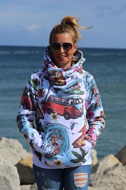 Bluza z kapturem Surf