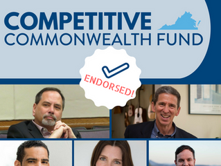 Competitive Commonwealth Fund Backs 5 Democrats in First Endorsements
